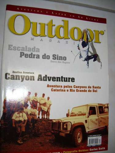 Outdoor Magazine Nº 17: Canyons De Santa Catarina - Vôo