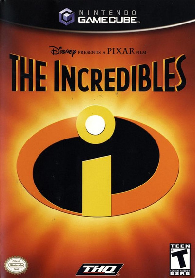 Game Gamecube The Incredibles