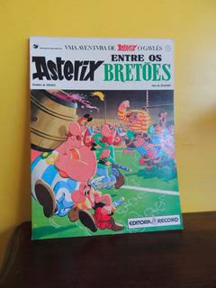 Hq Asterix Entre Os Bretões 4 Goscinny Uderzo 1985