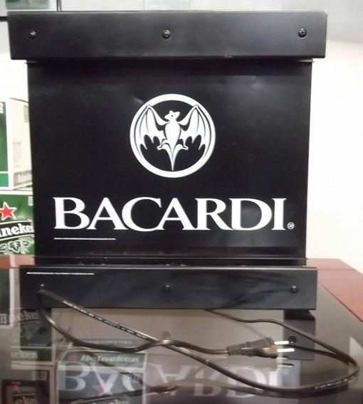 Luminoso Metal Bacardi - Front-iluminação - 127v - Em Metal