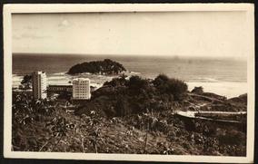 Cartão Postal Antigo Salvador Bahia Panorama