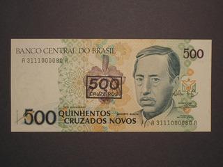 Raro) 500 Cruzeiros C-213b Na Série 3111