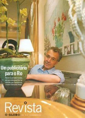 O Globo 2007 Nizan Guanaes Ferreira Gullar Fred Hampton Jr