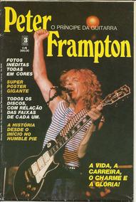 Peter Frampton - Revista Pôster - Ótimo Estado - Som Três