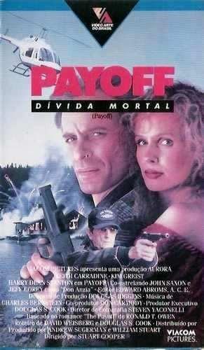 Fita Filme Vhs Legendado Payoff Dívida Mortal K Carradine