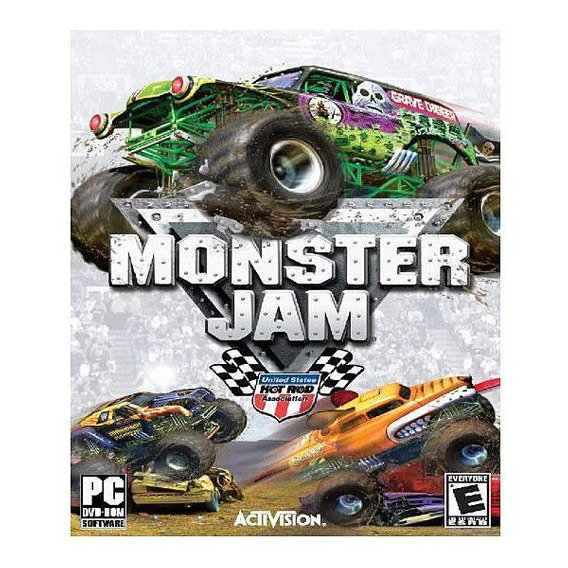 Game Pc Monster Jam - Dvdrom