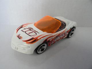 Sting Ray Convertible Hot Wheels 1:64 Única Bca/laranja
