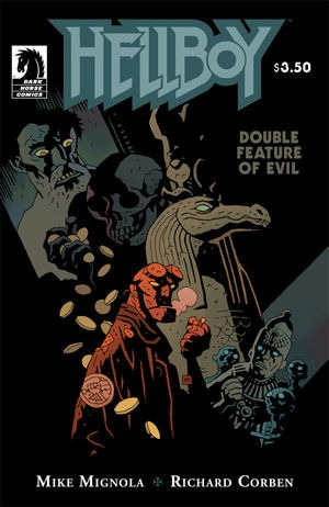 Hellboy Double Feature Of Evil (2010) Variant Cover