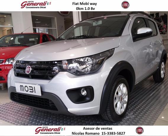 Fiat Nuevo Mobi Way 0km 2020 1.0 8 #ca1
