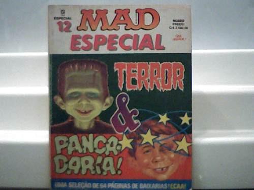 Revista Mad Especial 12 / Terror Pancadaria / Fevereiro 1992