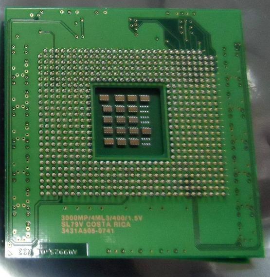 Intel Xeon 3.00ghz/4ml3/400 Socket 603 Sl79v Kit 2 Peças