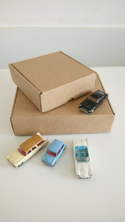 Caja De Carton Para 1/2 Doc Empanadas (18 X 16 X 6,5 Cm)