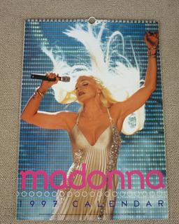 Madonna - Calendario 1997 Importado