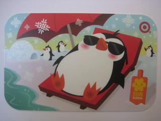 Cartão Presente Sem Crédito Para Colecionar - Pinguim