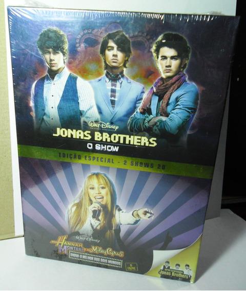 Jonas Brothers: Dvd O Show + Hannah Montana E Miley Cyrus