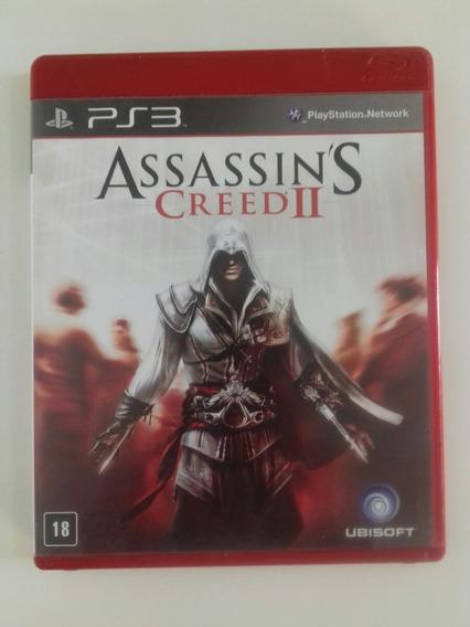 Assassins Creed 2 Ps3 Mídia Física Original Perfeito