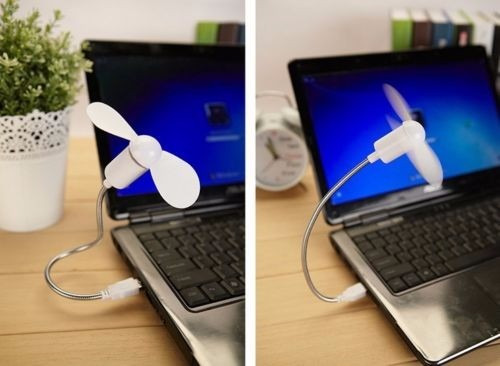 Mini Ventilador Portable Flexible Usb Cooler Laptop Pc Galax