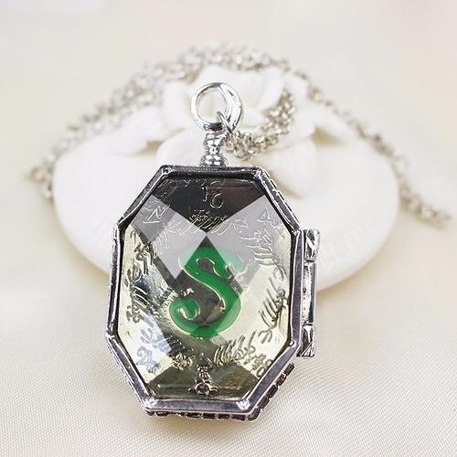 Collar Harry Potter Horrocrux Relicario Slytherin Colección