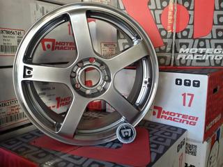 Llanta Motegi 116 17x7 4x108 Fiesta Citroen Peugeot Tiida