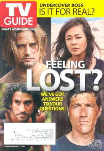 Tv Guide: Atores De Lost / Matthew Fox / Josh Holloway !!