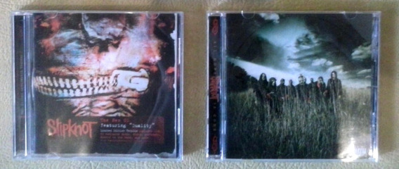 Lote 2 Cd Slipknot Vol 3 Subliminal Verses All Hope Is Gone