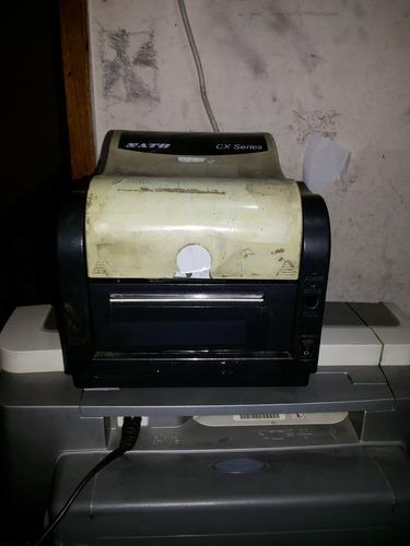 Impressora Térmica Sato Cx Series Usada Não Funciona