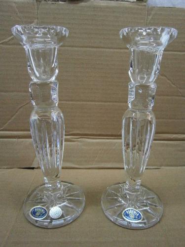 Imagen 1 de 4 de Candelabros Cristal Bohemia Precio X C/u