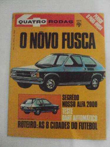 Revista Quatro Rodas N 133 - Agosto 1971 - O Novo Fusca