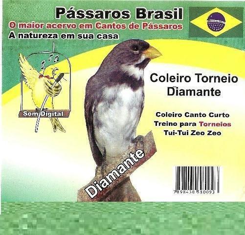 Cd Coleiro Canto Curto. Cd Original.