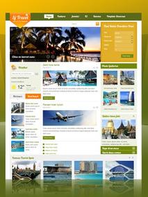 Site Para Agencia De Turismo, Em Joomla 2.5 - Modelo J460