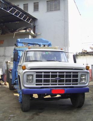 Caminhão Munck Munk Ford F 14000 Hidráuguincho