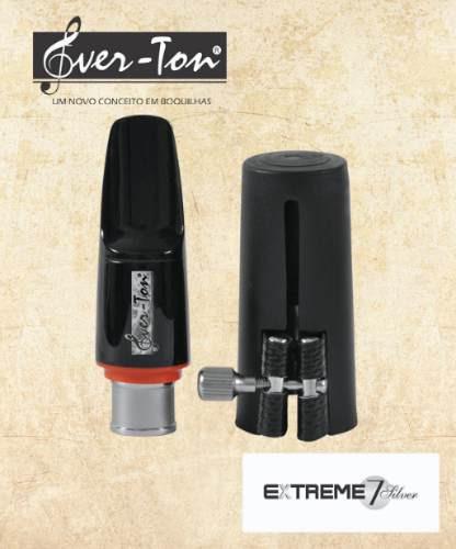 Boquilha Ever-ton Extreme 7 Silver Sax Alto Completa