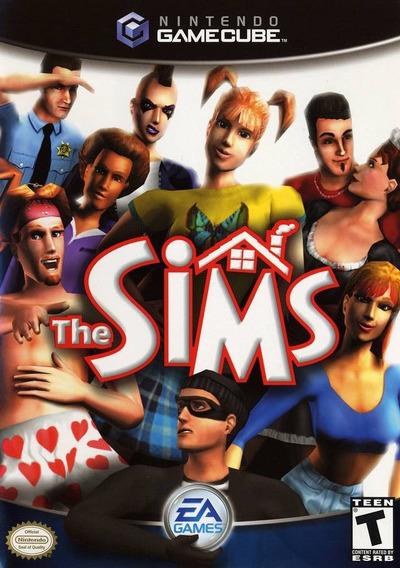 Game Nintendo Gamecube The Sims