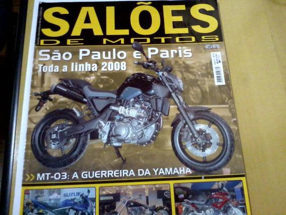 Revista Salões De Motos Nº5 São Paulo E Paris