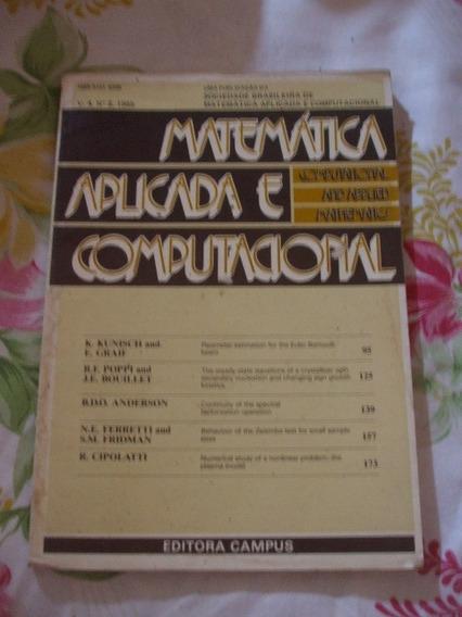 Livro: Matemática Aplicada E Computacional Vol. 4 Nº 2