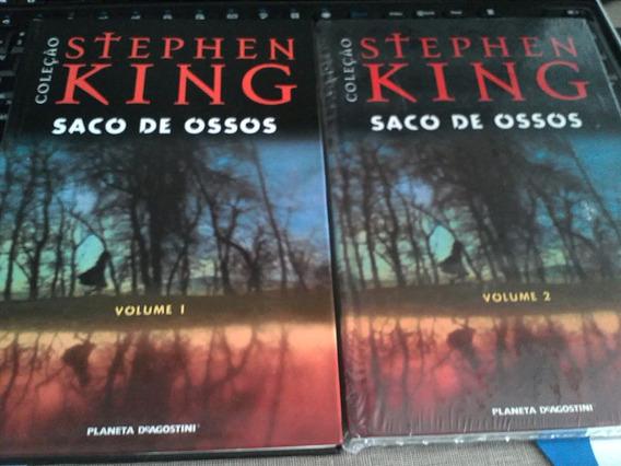 Livro Stephen King Saco De Ossos Vol 1 E Vol 2