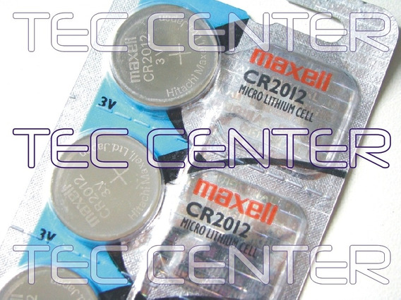 Bateria Pilha Cr2012 Maxell C/ 01 Unid Frete R$ 16,00