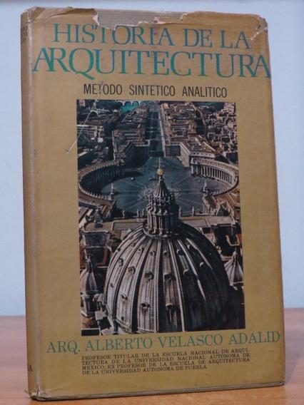Livro História De La Arquitetura Sintético Analítico Adalid