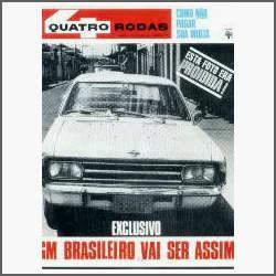 Quatro Rodas Nº 89 - Teste Do Galaxie - Automobilismo - 1967