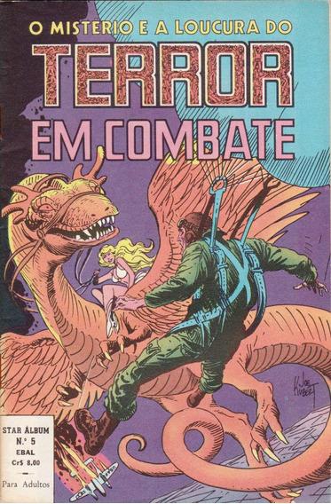 O Mistério E A Loucura Do Terror Em Combate - Nº 5 - 1979