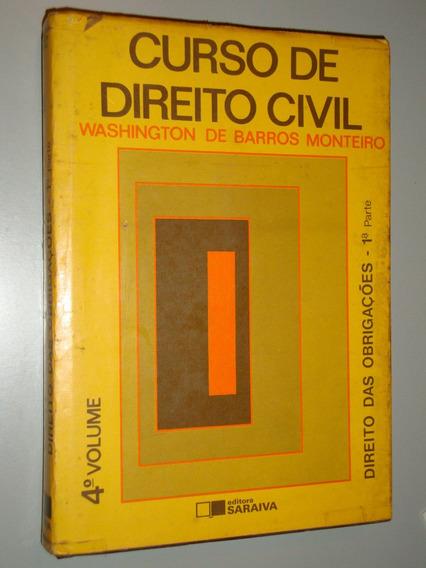 Livro Curso De Direito Civil - 4º Volume