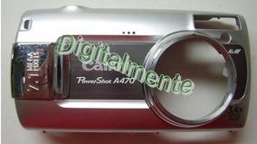 Carcaça Frontal Para Câmera Cânon A470