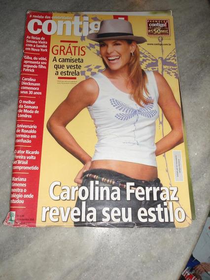 Contigo Nº 1723 - Carolina Ferraz / Suzana Vieira / Giba /