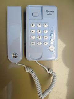 Telefone Importado Azul Multi Funções