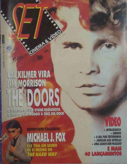 Revista Set Ano 5 No. 05 Val Kilmer Doors Michael J. Fox