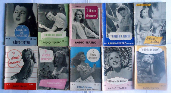 Revista Radio Teatro - Novela - Completo - 1952 - 40 Exempl.