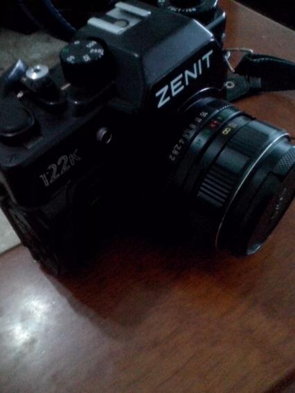Câmera Fotográfica Analógica (filme) Zenit 122k, Funcionando