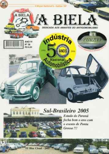 A Biela Nº36 Revista De Carros Antigos