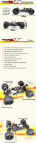 Nanda Racing-truggy Bd-8t Motor Nitro Power 4.02cc