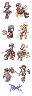Plancha De Stickers De Ragnarok Online (2)
